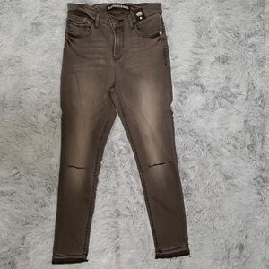 NEW w/tags, Women's Express brand, gray jeans